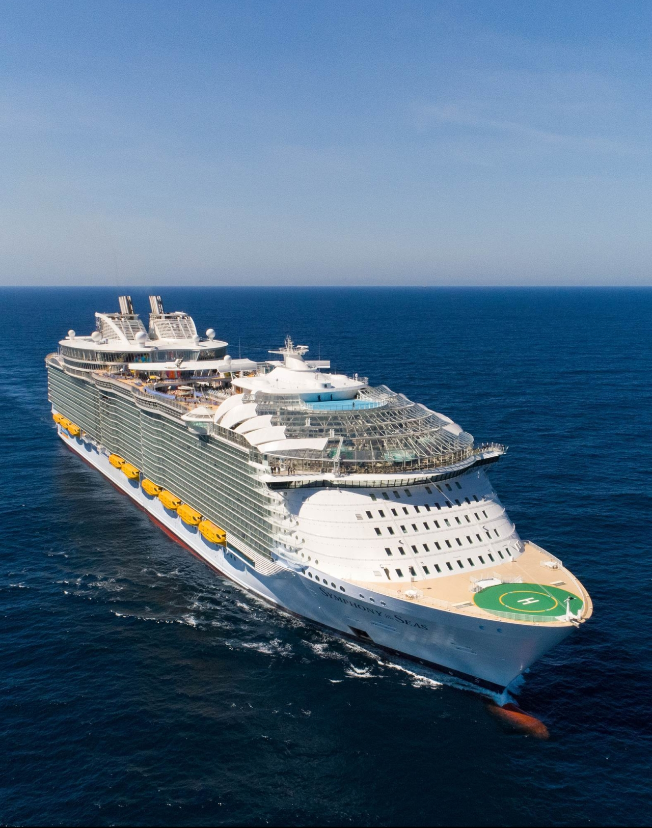 Symphony of the Seas sails the ultimate adventure